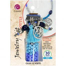 Jewelry Kit In A Bottle Ohm Symbol - 3030-8002