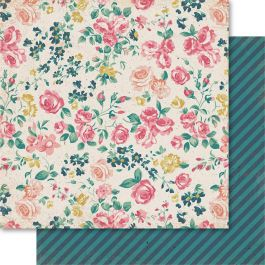 "Bolt Double Sided Cardstock 12""X12"" Floral - BO51"
