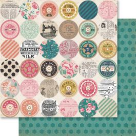 "Bolt Double Sided Cardstock 12""X12"" Spool - BO83"