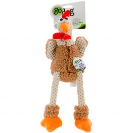 Godog Checkers With Chew Guard Small Skinny Rooster - 770881