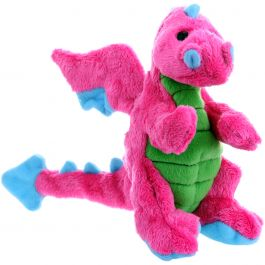 Godog Dragons With Chew Guard Small Pink - 770973