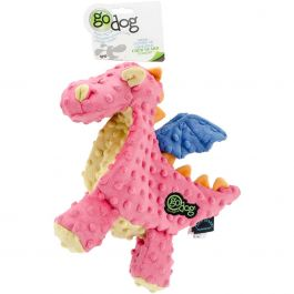 Godog Dragons With Chew Guard Large Coral - 770638