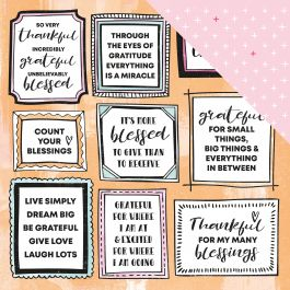 """Blessed Double-Sided Cardstock 12""""X12""""-Miracles"""