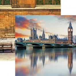 "Great Britain Double-Sided Cardstock 12""X12""-Westminster"