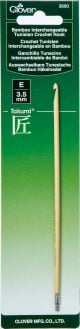 Clover Bamboo Interchangeable Tunisian Crochet Hook Size E/3.5Mm (Takumi) - 3690