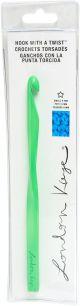 Lion Brand London Kaye Crochet Hook Green, Size N13/9Mm - 3002-301