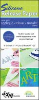 C&T Silicone Release Paper 10/Pkg  - 20134
