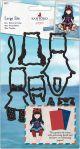 Santoro'S Gorjuss Decorative Dies Little Fishes, 9/Pkg - GO503004