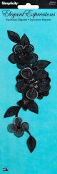 Wrights Iron On Applique Flower - 193 2103
