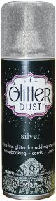 Glitter Dust Aerosol Spray 4.2Oz Silver - TW31-2