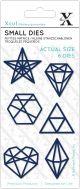 Xcut Small Dies Geometric Shapes - XCU54115