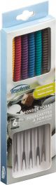 Fondue Forks Set Of 6 Assorted Colors - 823303