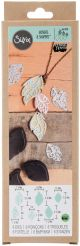 Movers & Shapers Magnetic Dies W/Thinlits By Lindsey Serata Leaf Charms - 661330
