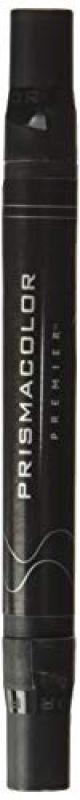 Prismacolor Premier Art Marker - Brush-Fine Double-Ended Markers - Jet Black