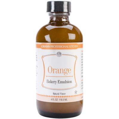 Bakery Emulsions Natural & Artificial Flavor 4Oz Orange - 0806-0760