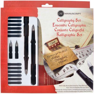 Manuscript Calligraphy Set-Left-Handed