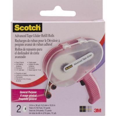Scotch Advanced Tape Glider General Purpose Refills 2/Pkg .25