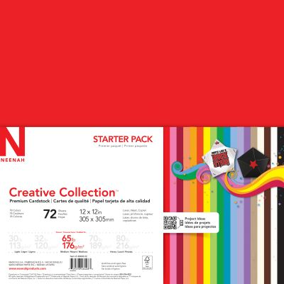 Neenah Creative Collection Cardstock Pack 12