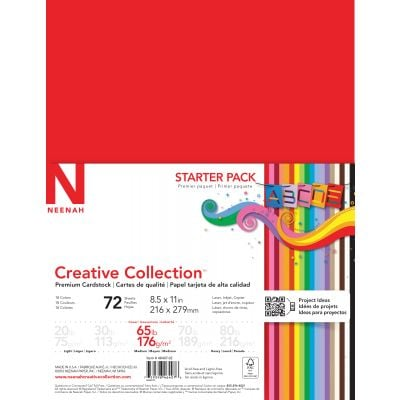 Neenah Creative Collection Cardstock Pack 8.5