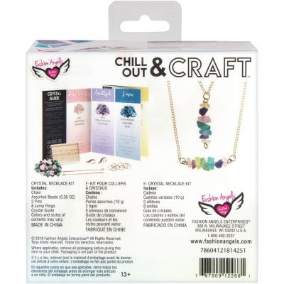 Chill Out & Craft Chakra Necklace Kit-
