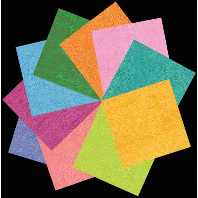 Origami Paper Pack Iridescent 40 Sheets - OP-300