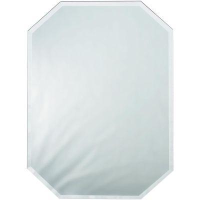 Octagon Glass Mirror Place Mat W/Bevel Edge Bulk 12
