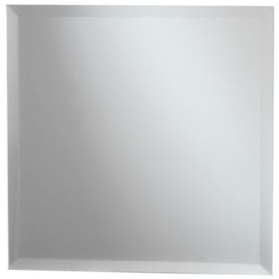 Square Glass Mirror W/Bevel Edge Bulk 11.75