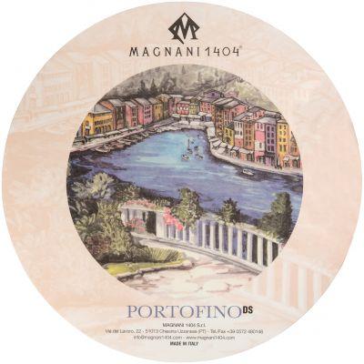 Magnani Aquarello Portofino Round Water Color Block 12.6