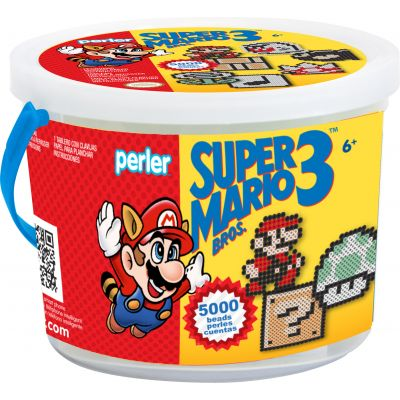 Perler Fused Bead Bucket Kit Super Mario Bros. 3 - 80-42947