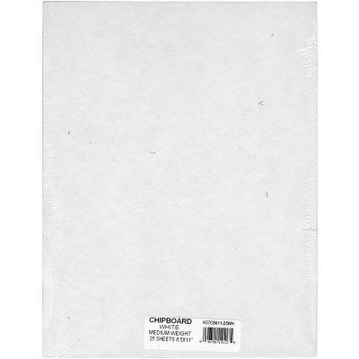Grafix Medium Weight Chipboard Sheets 8.5