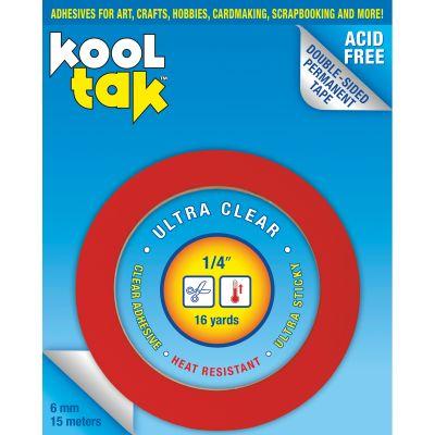 Kool Tak Ultra Clear Tape .25