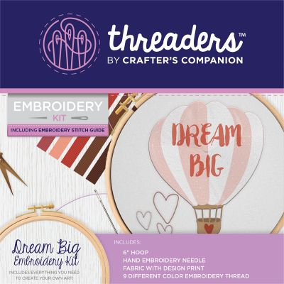 Crafter's Companion Threaders Embroidery Kit 6