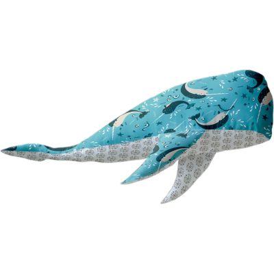 Camelot Fabrics Wallace The Whale Project Kit-Snowfall-Paula McGloin