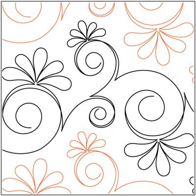 Quilt Stencils By Patricia Ritter & Leisha Farnsworth-Chantilly 12