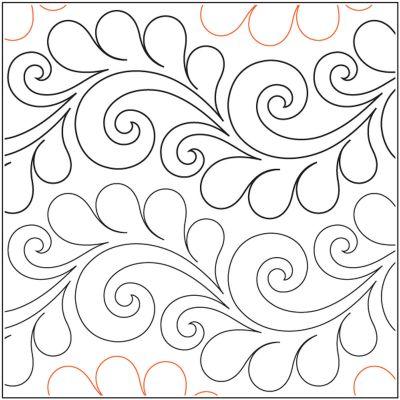 Quilt Stencils By Patricia Ritter & Valerie Smith-Deja Vu 7.5