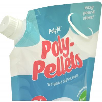 Fairfield Poly-Pellets Weighted Stuffing Beads-24oz FOB: MI