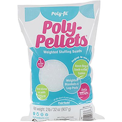 Fairfield Poly-Pellets Stuffing Beads - No Display-32oz FOB: MI