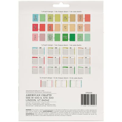 American Crafts Memory Planner Starter Kit Quotes - 375009