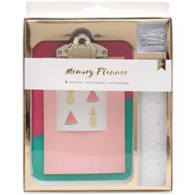 American Crafts Memory Planner Office Kit  - 374994