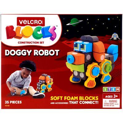 Velcro(R) Blocks(TM) Construction Set-Doggy Robot