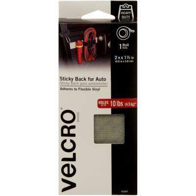Velcro(R) Brand STICKY BACK Auto Tape-Gray 1.5