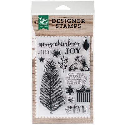 Echo Park Stamps  Merry Christmas - EPSTP157