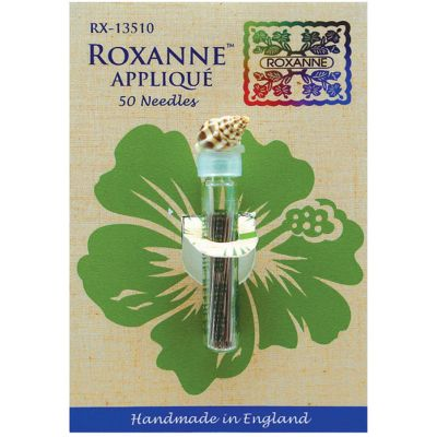 Roxanne Applique Hand Needles Size 10 50/Pkg - RX135-10