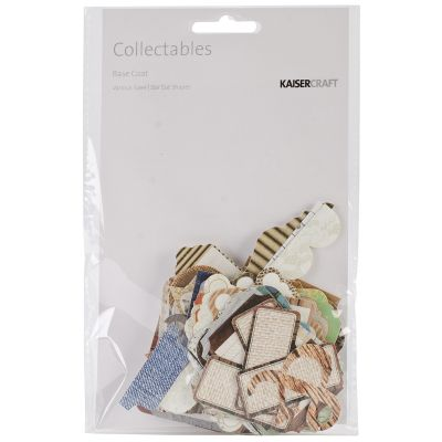Kaisercraft Collectables Cardstock Die Cuts Base Coat - CT773