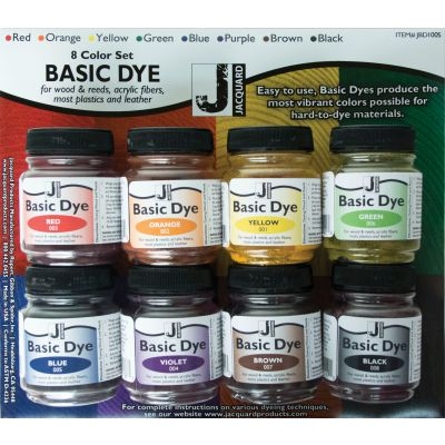 Basic Dye Set .5Oz 8/Pkg  - JBD110S