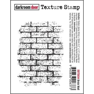 Darkroom Door Texture Cling Stamp 3