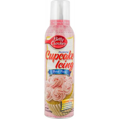 Betty Crocker Cupcake Icing 8.4Oz Petal Pink - BC778-01