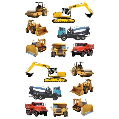 Mrs. Grossman'S Stickers Tractors & Trucks - MG199-14715