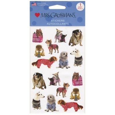 Mrs. Grossman'S Stickers Pampered Dogs - MG199-14735