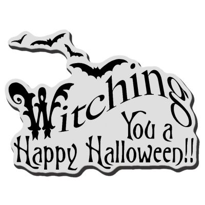 Stampendous Cling Stamp Witching You - CRV285
